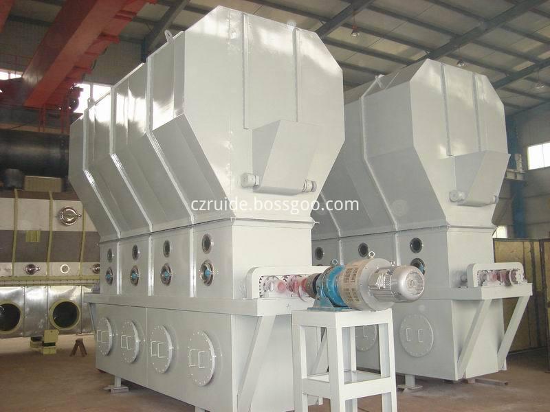 Resin Horizontal Fluid Bed Dryer