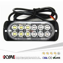 Mejor venta de doble color 12V 24V voltaje Mini Slim LED intermitente luz estroboscópica
