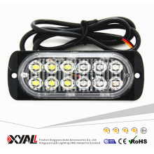 Melhor Venda Dupla Cor 12 V 24 V Tensão Mini Slim LED Flashing Strobe Light
