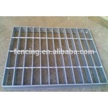 grelhas de drenagem de aço galvanizado / grating de aço