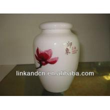 KC-00896 ceramic jars with lids