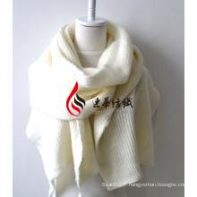 Châle en acrylique tricoté (12-BR201812-6)