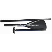 El tipo del OEM pintó la paleta de la fibra de carbono del balde del color con la cuchilla de la protección de la lámina del ABS / de la fibra de carbono