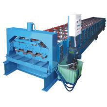 Machine de formage de rouleaux de plancher en acier coloré