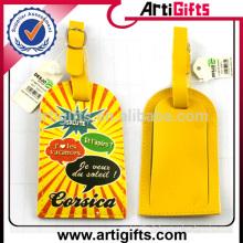 Fabricant de tag bagage en cuir logo personnalisé
