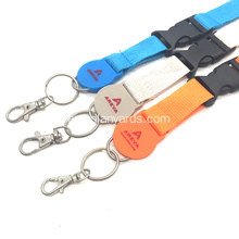 Multicolor Cuello Seguridad Lanyard Dye Sublimation