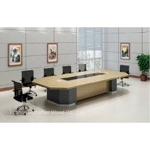 Elegantes Design Hölzernes Büro Konferenztisch Möbel (HF-FHY1006)