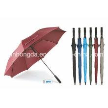 Auto öffnen gerade Regen und Sonne Golf Regenschirm (YSGO0004)