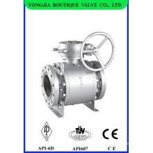 Robinet à boisseau sphérique industrielle ASTM A105 classe 300
