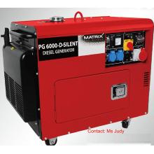 Bn5800dse-3 leise luftgekühlte Dieselgeneratoren dreiphasig 5kW