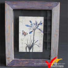Luckywind Shabby et Vintage Wooden Picture Frame