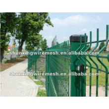 Сварной проволочный забор с покрытием PVc