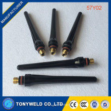 Wholesale 57y02 tig torch long back cap 57y02 welding spare parts