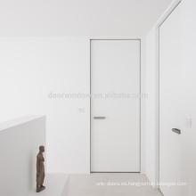 Puertas interiores con marcos invisibles