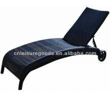 Chaise pliante en rotin pliable en osier
