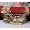 2017 Fashion accessories OEM design fashion necklace metal alloy necklaces Diamond