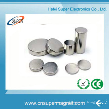 China Low Price Diametrically Magnetized Cylinder Neodymium Magnet
