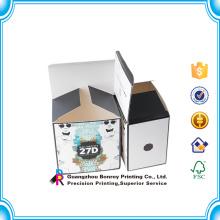 Caja de papel de jabón de manga laminada a todo color
