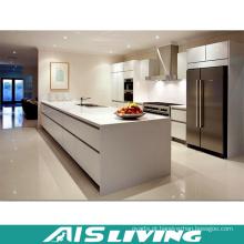 Os armários de cozinha baratos de alta qualidade do melhor projeto novo da venda com porta de madeira (AIS-K985)