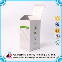 Joyería de la impresión a todo color reciclable / caja de cartón del regalo