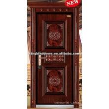 Новый дизайн экстерьера стальные двери с короны рама KKD-504Z