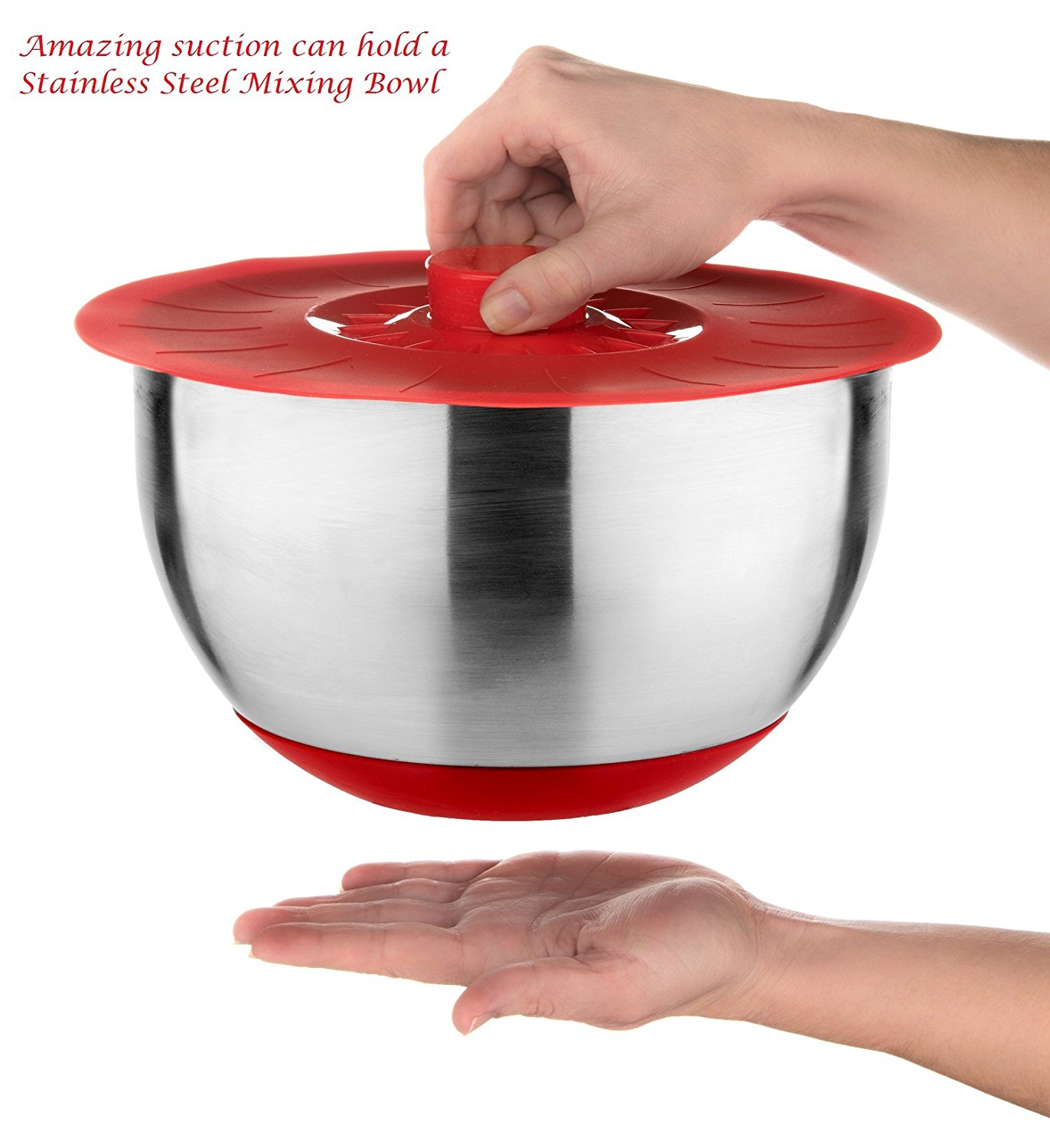 silicone bowl lid