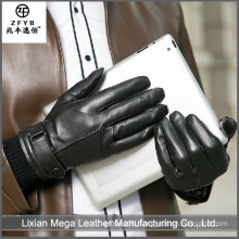 2016 newest hot selling Men's gloves for Touch Screen