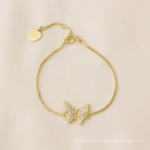 Xuping Butterfiy Bracelet Fashion Jewelry