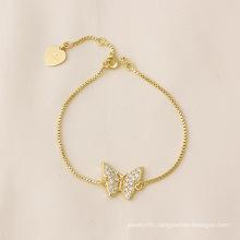 Xuping Butterfiy Bracelet Fashion Jewelry