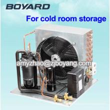 Horizontaler Plattenfroster mit R404A Kühlung 2 HP Kompressor-Kondensatoreinheiten