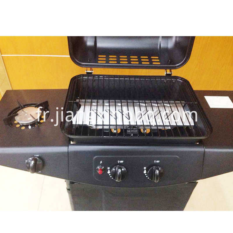 2 Burners Liquid Propane Gas Grill Cooking Grid