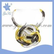 2013 Gus-Snn-029 Fashion Flexible Necklace, Flexible Bracelet, Flexible Jewelry, Bended Bracelets, Necklace and Bracelet, Costume Jewelry, Gift Jewelry
