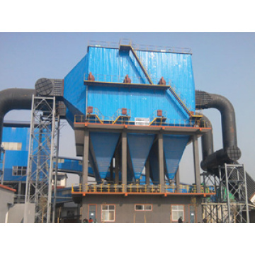High pressure electrostatic precipitator