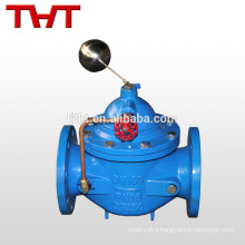 Hydraulic remote control float valve