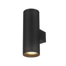 Наружный цилиндр черный алюминиевый корпус даунлайт