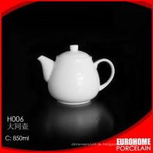 Eurohome verwenden, um die Hochzeit Wohn / super reine weiße Teekanne