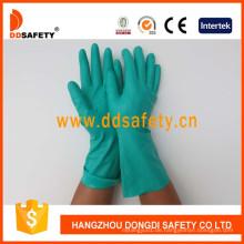 Grüne Nitril Industrie Handschuhe DHL446