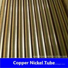 CuNi 70/30 Tubo de níquel de cobre sem costura