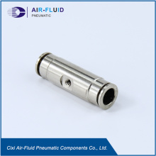 Air-Fluid High Pressure Push Lock Coupling Union.