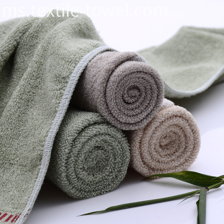 Bamboo Cotton Face Towels