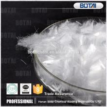 Fibra de polipropileno de alta calidad fibra / fibra de polipropileno utilizada en el hormigón