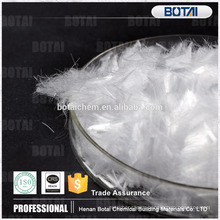 Polypropylene fiber for reinforcement