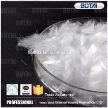 Polypropylene fiber for reinforcement