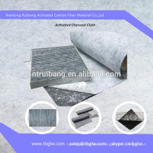 air conditional Activated Carbon Cloth activated carbon filter cloth
