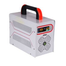 SAKO Newest Power Inverter with AC charger with Low-battery Protection/Special LCD Display Design