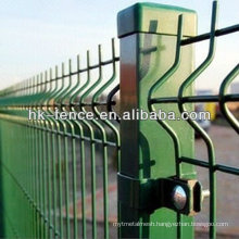 Curvy Welded Mesh Fence/Hook Style Wire Mesh Fence