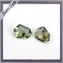 Vente chaude à bas prix verre en cristal pour les bijoux de mode