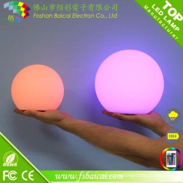 Светодиодный светящийся мяч