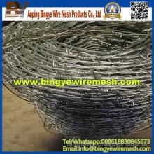 Anping fábrica de alta calidad de alambre de púas