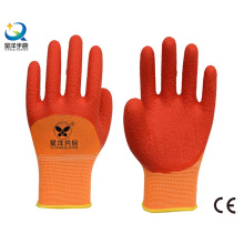 13G Polyester Liner Latex 3/4 beschichteter Sicherheitshandschuh